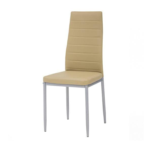 Jedálenská stolička Queen, medová