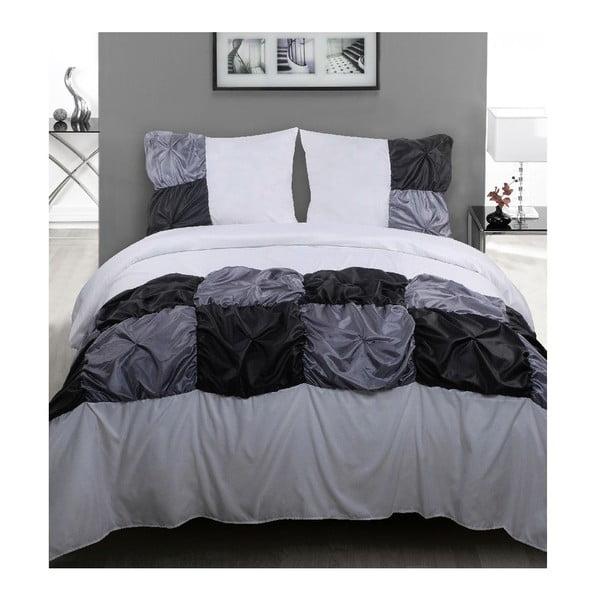Obliečky Grey Chess, 200x200 cm
