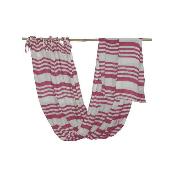 Záclona Curtain Sangria, 120x220 cm