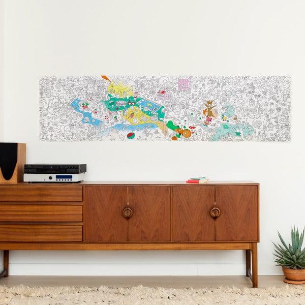 Maľovanka OMY Four Seasons (180 x 50 cm)
