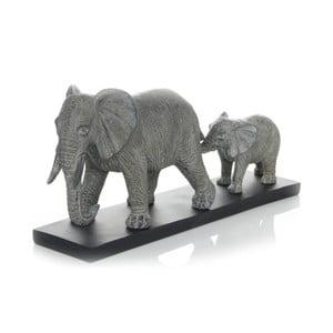 Dekoratívna soška 360 Living Familia Elefante