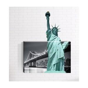 Nástenný 3D obraz Mosticx Socha Slobody, 40 x 60 cm