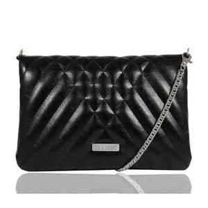 Čierna listová kabelka Dara bags Cocktail Chic No.3