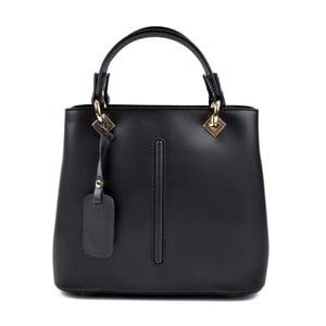 Čierna kožená kabelka Roberta M Mismono