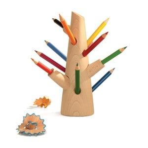 Set stojana a 12 pasteliek Mon Petit Art Crayons