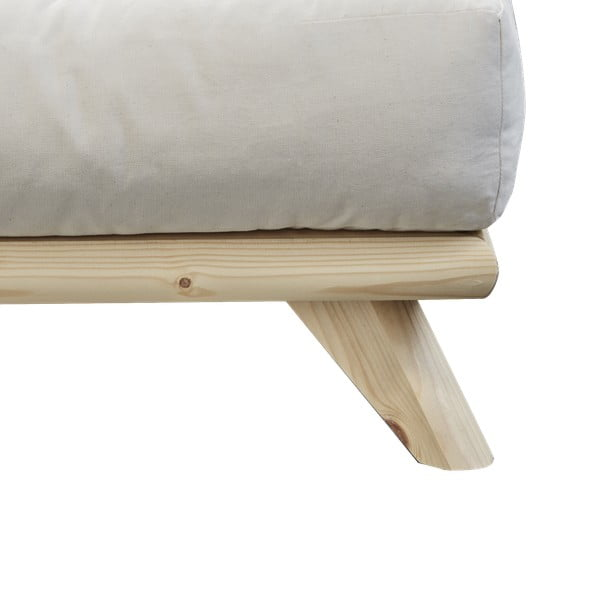 Posteľ Karup Design Senza Bed Natural, 160 × 200 cm