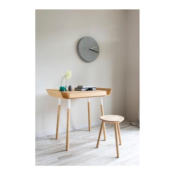 Prírodný písací stôl s 1 zásuvkou EMKO My Writing