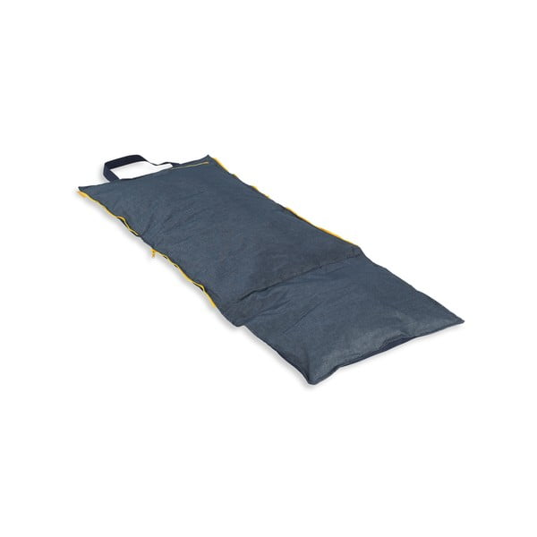 Skladacie ležadlo Hhooboz 150x62 cm, tmavo modré