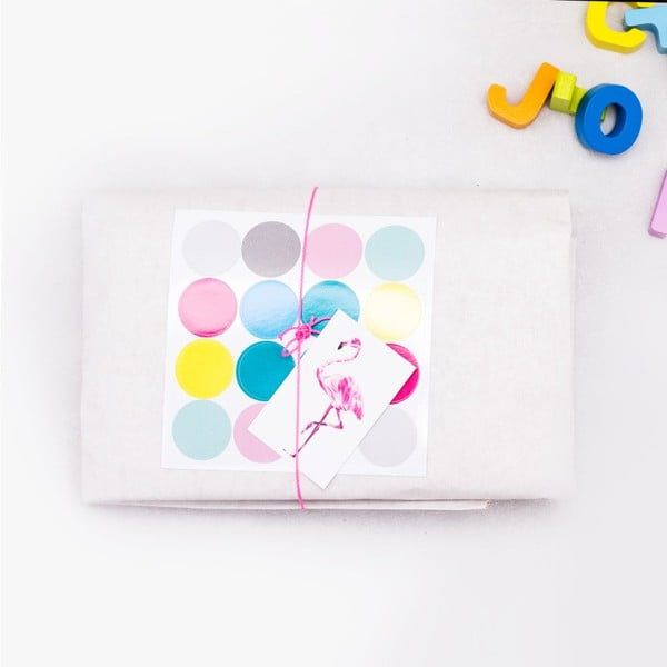 Papierové vrece Happy Konfetti DIY