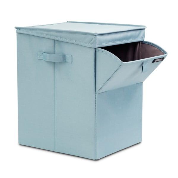 Mätový skladací box na bielizeň Brabantia Hit Mint, 35l