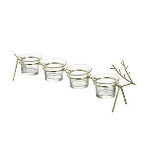 Svietnik na 4 sviečky Parlane Deer