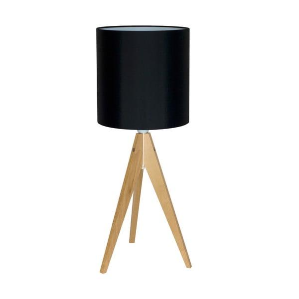 Stolná lampa Artist Black/Birch, 40x25 cm