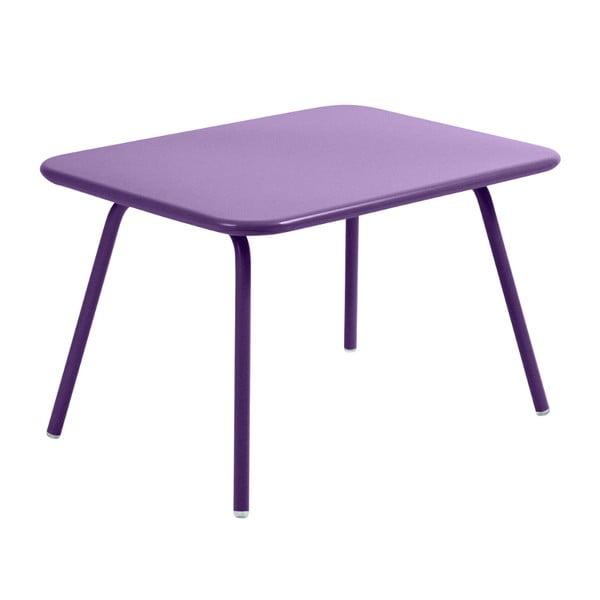 Fialový detský stôl Fermob Luxembourg