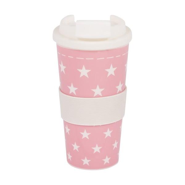 Plastový cestovný hrnček Stars Rosa
