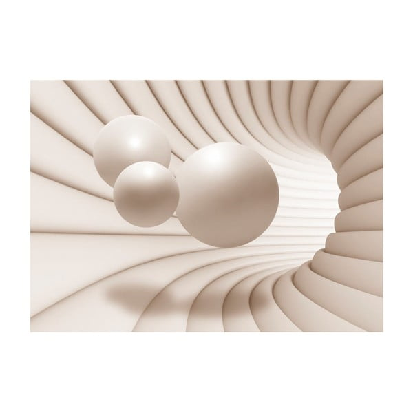 Veľkoformátová tapeta Artgeist Balls in the Tunnel, 300×210 cm