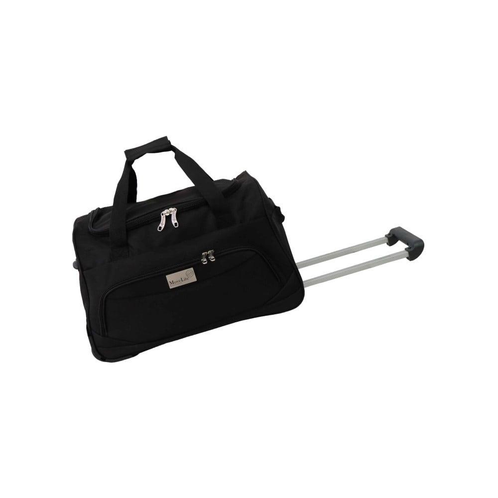 Čierna cestovná taška na kolieskach Hero Marion, 45 l