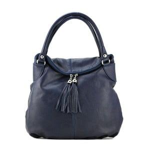 Kožená kabelka Blanca Blu