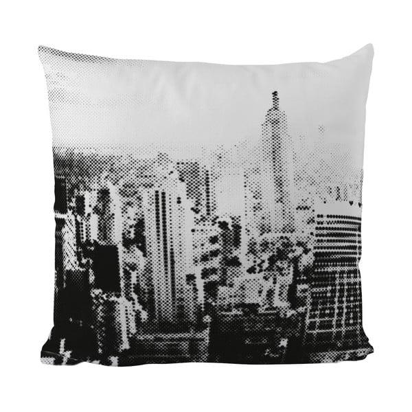Vankúšik Black Shake In The City, 40x40 cm