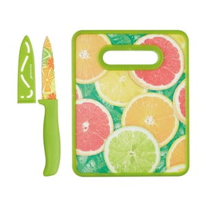 Sada noža a dosky na krájanie Kitchen Craft Healthy Eating