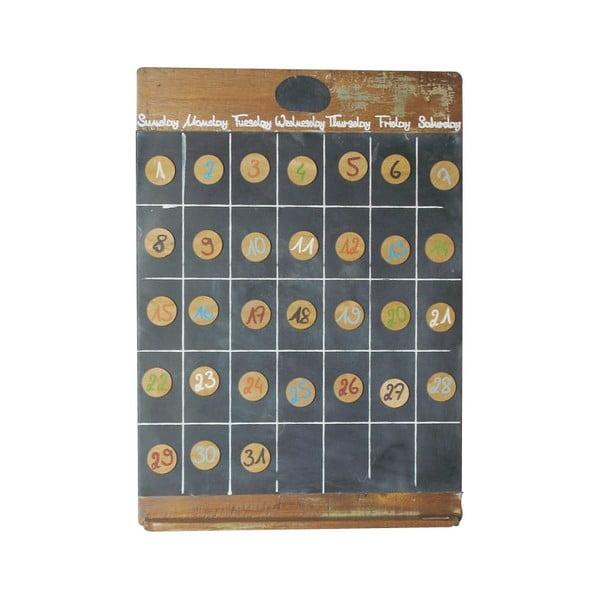 Magnetický kalendár Vintage