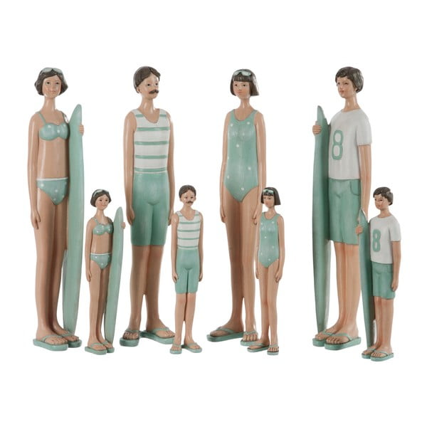 Sada 4 dekorácií Kids Swimsuit, 6x4x21 cm
