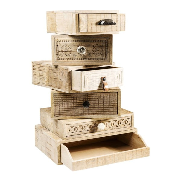 Komoda so 6 zásuvkami Kare Design Drawer Tower