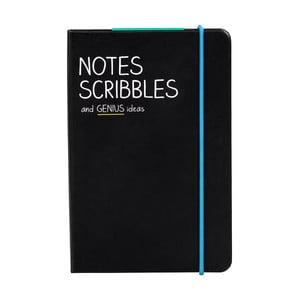 Zápisník Happy Jackson Notes Scribbles, vel. A6