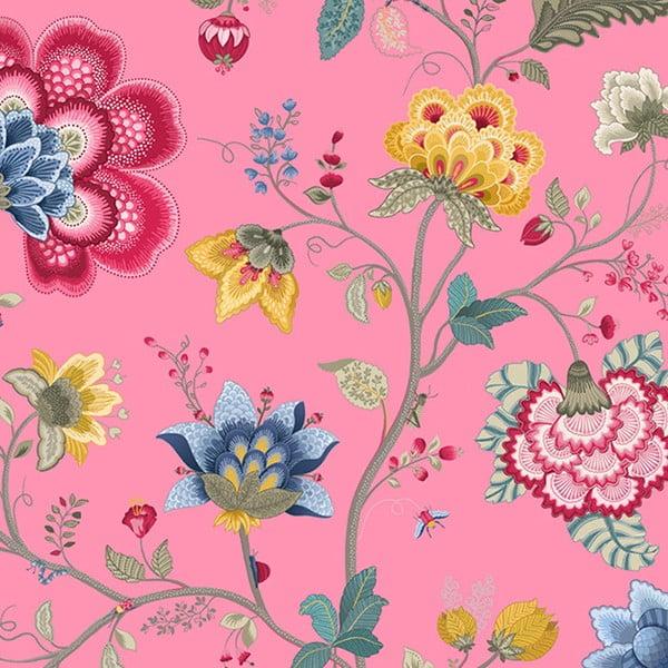 Tapeta Pip Studio Floral Fantasy, 0,52x10 m, ružová
