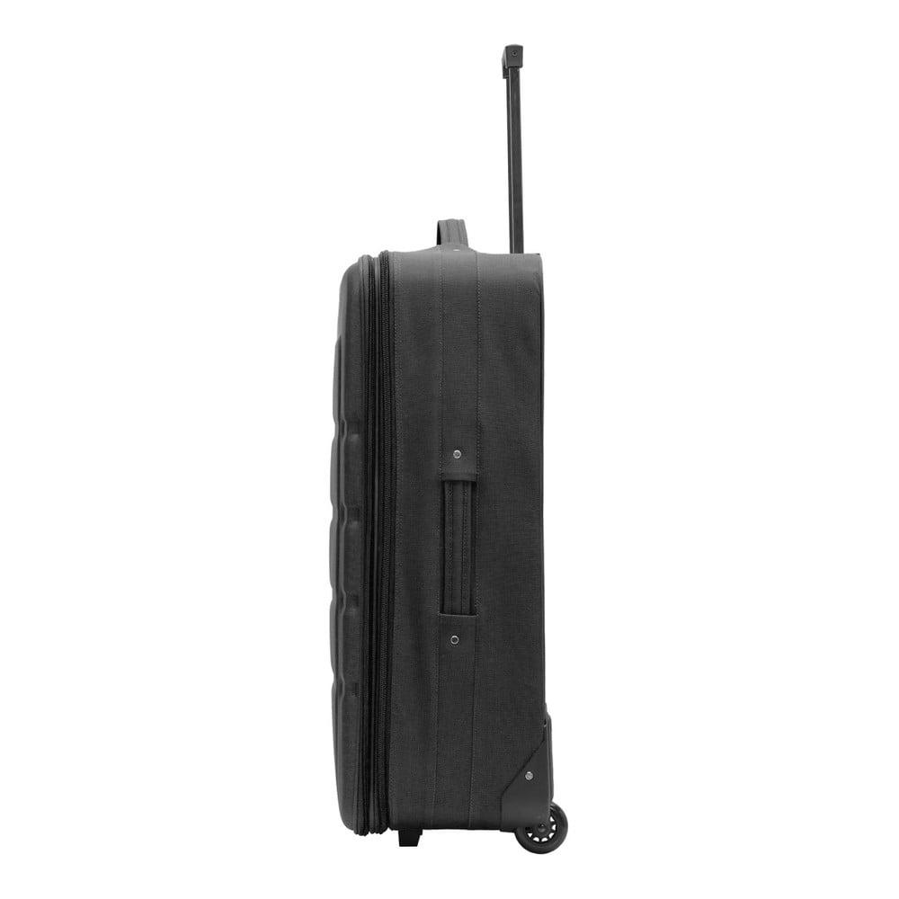 Čierny cestovný kufor Packenger Easy Traveller ... d000663444