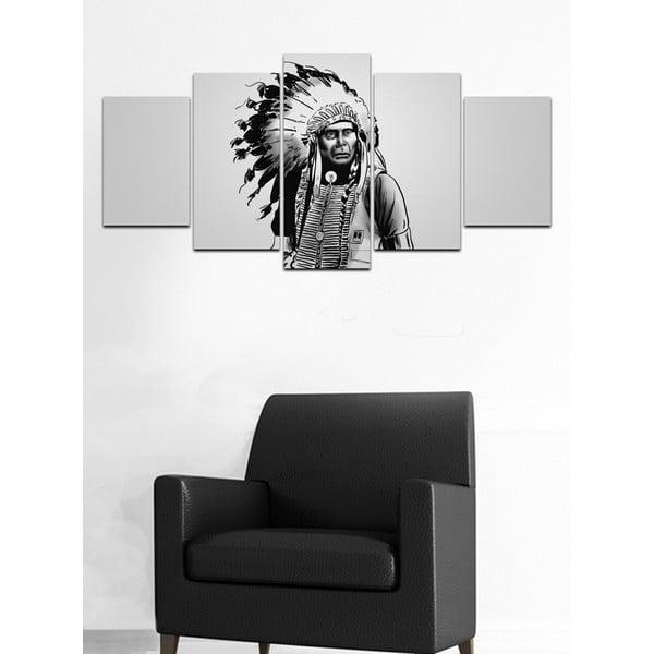 Viacdielny obraz Black&White no. 80, 100x50 cm