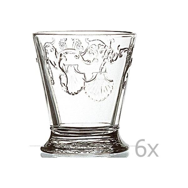 Sada 6 pohárov Versailles, 250 ml