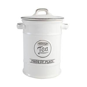 Keramická dóza na čaj PrideofPlace, biela