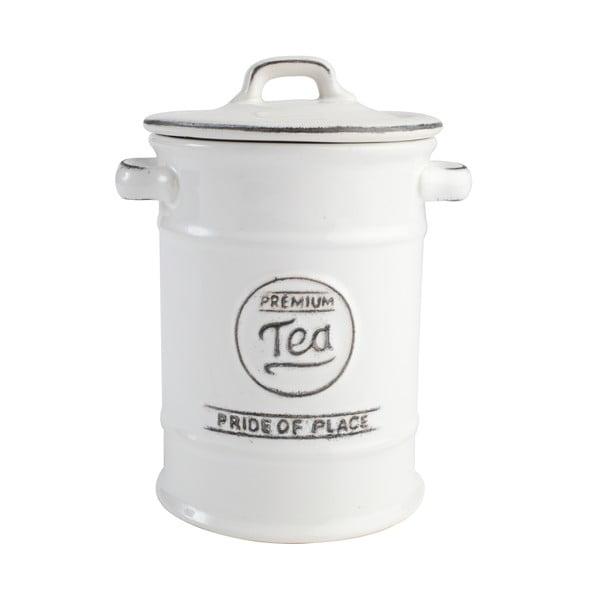 Biela keramická dóza na čaj T&G Woodware PrideofPlace