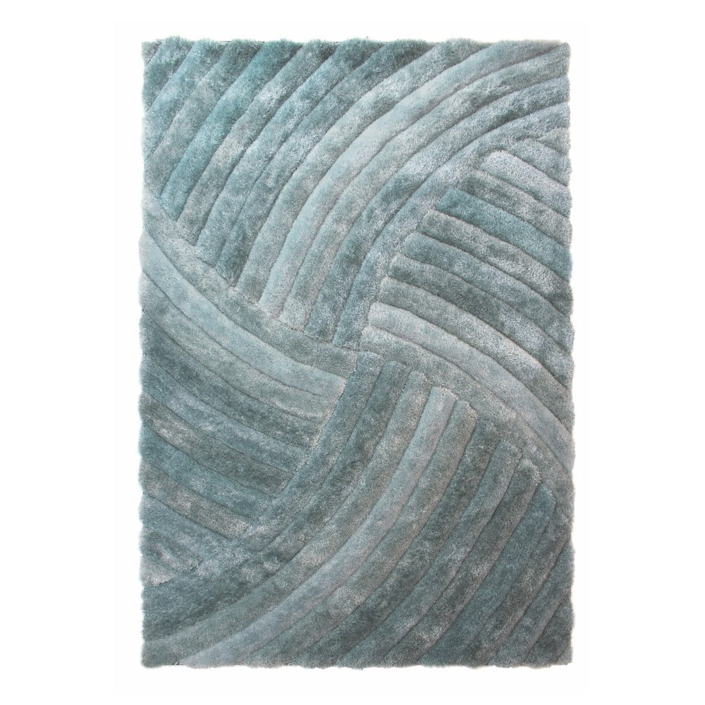 Zelený koberec Flair Rugs Furrow, 120 x 170 cm