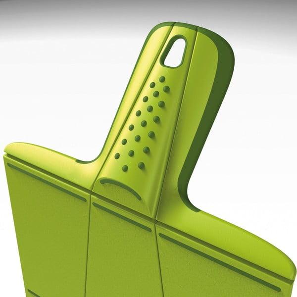 Zelená skladacia doska na krájanie Joseph Joseph Chop2Pot