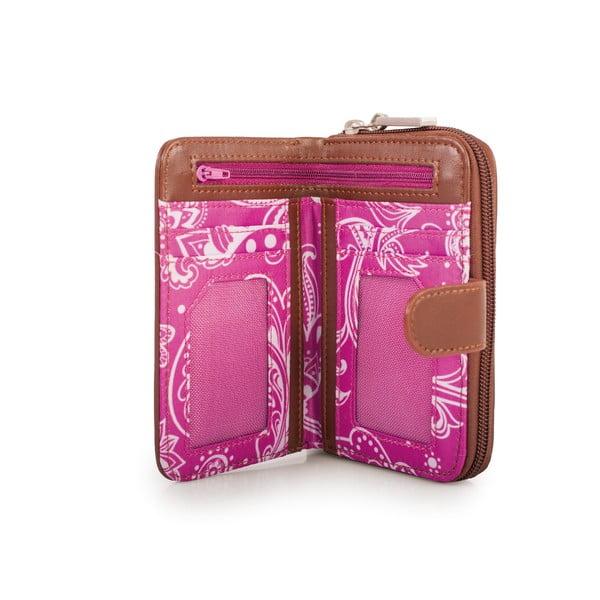 Peňaženka Skpa-T Purple, 14x9 cm