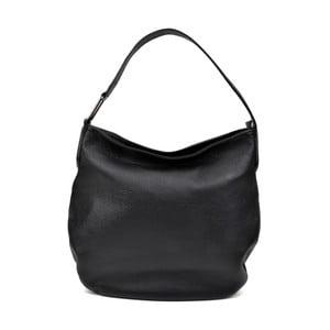 Čierna kožená kabelka Isabella Rhea Gerrie