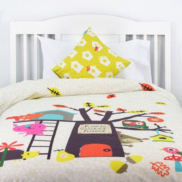 Detské bavlnené obliečky Baleno Sweet Home, 140×200 cm