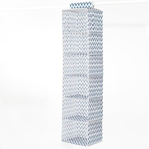 Textilný závesný organizér Compactor ZigZag 6 Rack