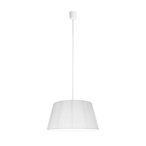 Biele stropné svietidlo Sotto Luce KAMI, Ø 45 cm