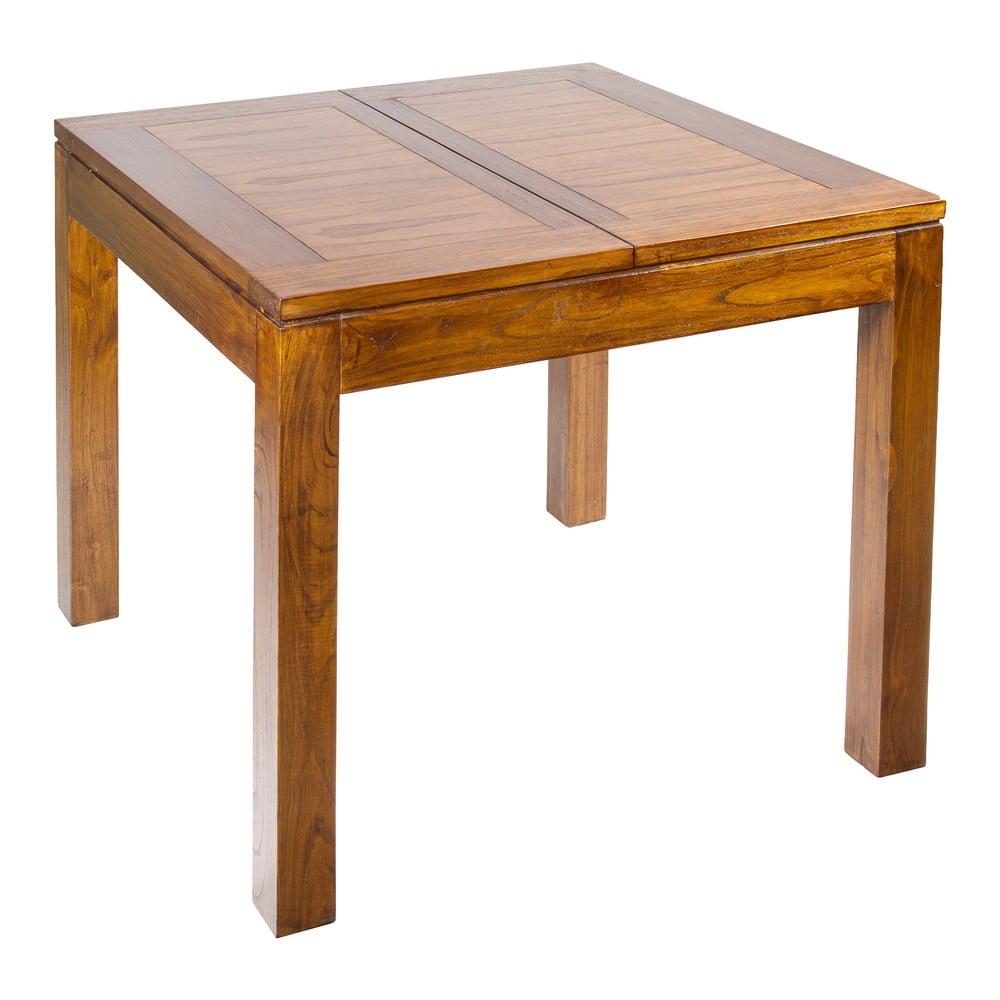 Rozkladací jedálenský stôl z dreva mindi Santiago Pons Madera