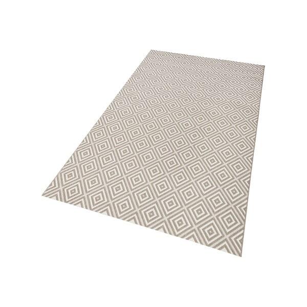 Sivý koberec vhodný aj do exteriéru Hanse Home Karo, 200x290cm