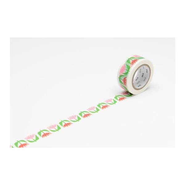 Washi páska MT Masking Tape Tulip