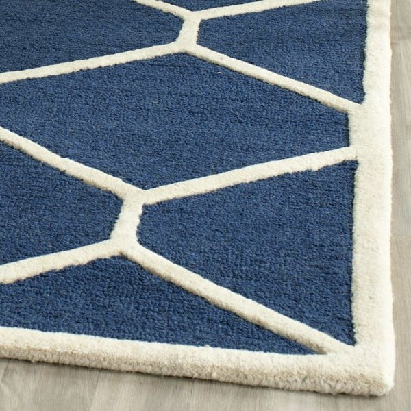 Koberec Lulu 121x182 cm, modrý