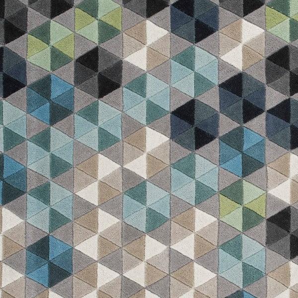 Vlnený koberec Linie Design Colmena, 137x193cm