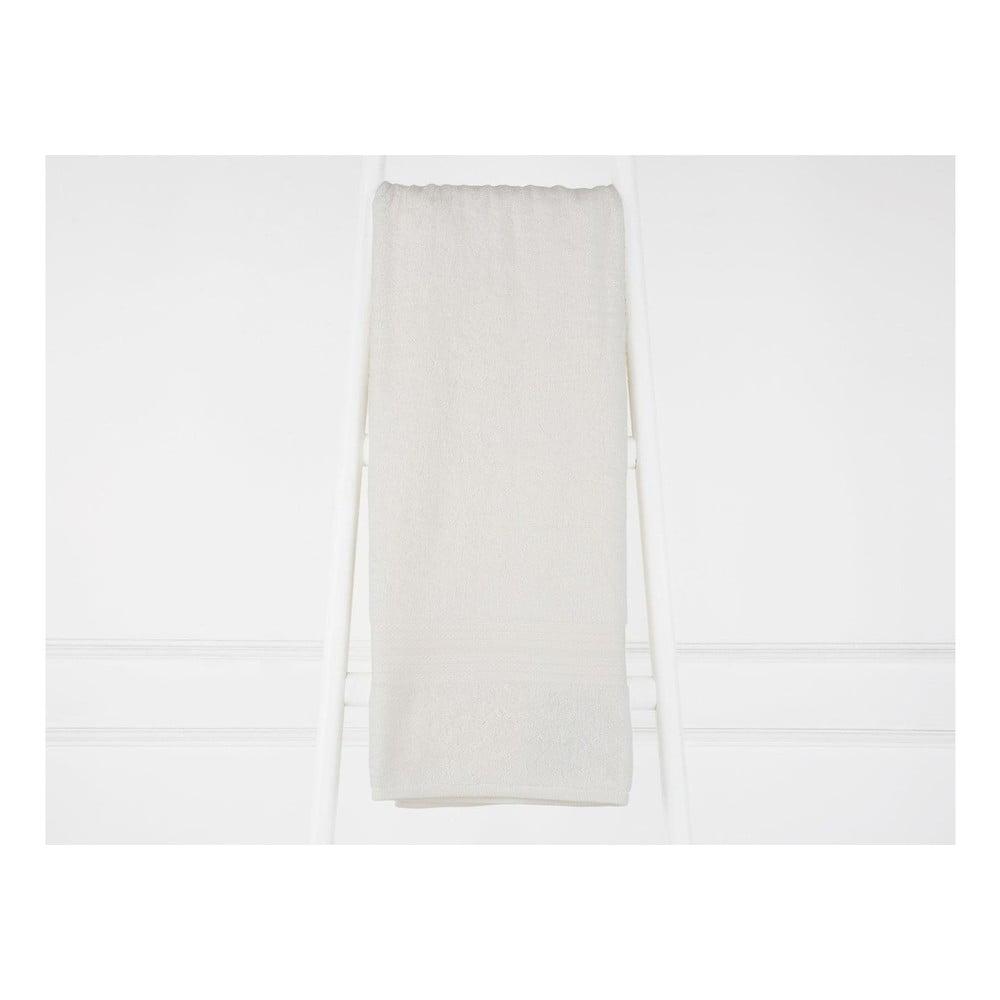 Krémovobiela bavlnená osuška Madame Coco Eartha, 90×150 cm