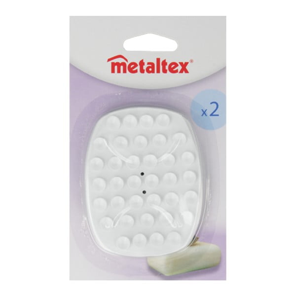 Sada 2 mydelničiek Metaltex