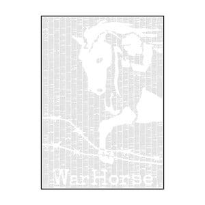 Knižný plagát Vojnový kôň, 50x70 cm