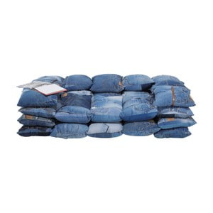 Modrá dvojmiestna pohovka Kare Design Jeans