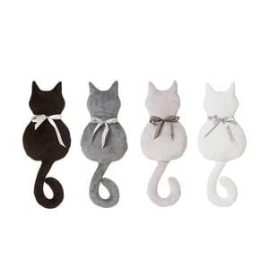 Sada 4 vankúšov v tvare mačky Unimasa, 38 x 22 cm